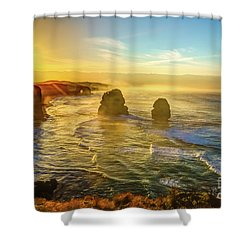 Twelve Apostles Victoria Shower Curtain