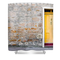 Yellow Door Shower Curtain