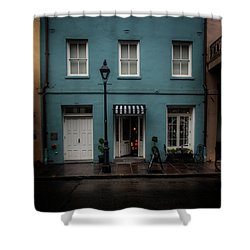 608 Bienville Street Shower Curtain