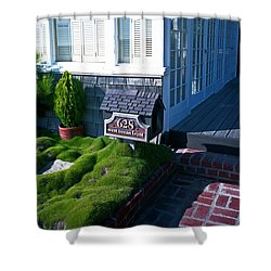628 West Ocean Front Shower Curtain