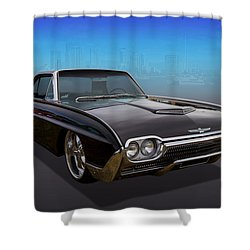 Shower Curtain featuring the photograph 63 Bird by Keith Hawley