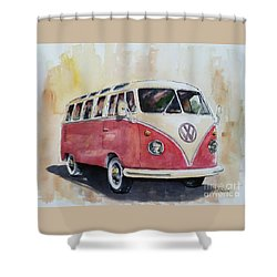 '63 V.w. Bus Shower Curtain