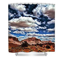 Capitol Reef National Park Shower Curtain