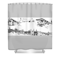 6.50.hungary-5-detail-f Shower Curtain