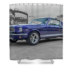 65' Mustang Shower Curtain