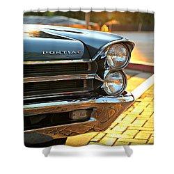 '65 Pontiac Shower Curtain