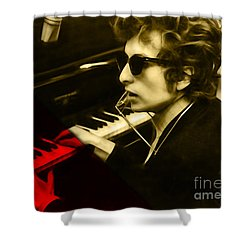 Bob Dylan Collection Shower Curtain