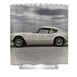 '67 Triumph Gt6 Shower Curtain