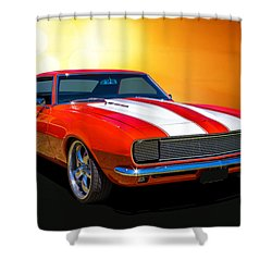 68 Camaro Shower Curtain