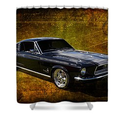 68 Fastback Shower Curtain