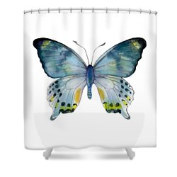 68 Laglaizei Butterfly Shower Curtain