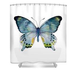 68 Laglaizei Butterfly Shower Curtain