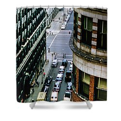 Shower Curtain featuring the photograph 6th And Superior - Cleveland by Samuel M Purvis III