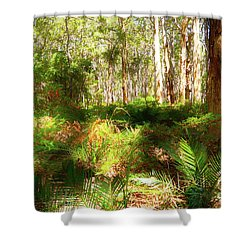 Boranup Forest II Shower Curtain
