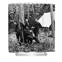 Civil War: Soldiers Shower Curtain by Granger
