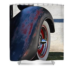 Classic Ford Pickup Shower Curtain by Dean Ferreira
