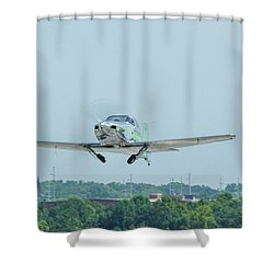 Cracker Fly-in Shower Curtain