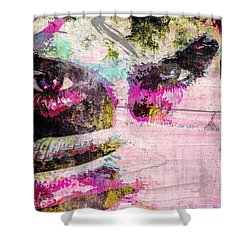 Ian Somerhalder Shower Curtain by Svelby Art