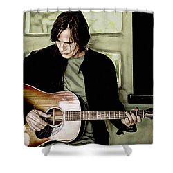 Jackson Browne Collection Shower Curtain