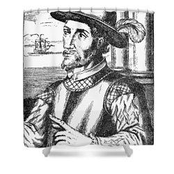 Juan Ponce De Leon Shower Curtain by Granger