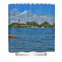7- Jupiter Lighthouse Shower Curtain