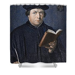 Martin Luther (1483-1546) Shower Curtain by Granger