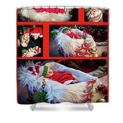 Merry Christmas Shower Curtain by Ivete Basso Photography