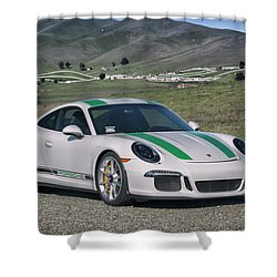 Shower Curtain featuring the photograph #porsche #911r #print by ItzKirb Photography