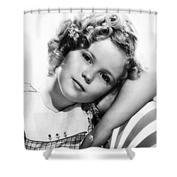 Shirley Temple (1928-  ) Shower Curtain