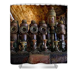 Steampunk Shower Curtain