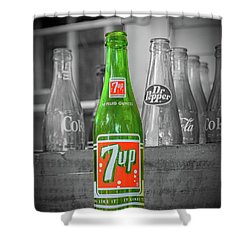 7 Up Shower Curtain