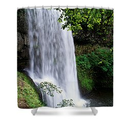 View Of Oregon Shower Curtain by Greg Vaughn - Printscapes