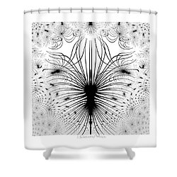 725 - The Spider Bug   Shower Curtain