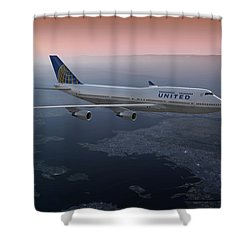 747twilight Shower Curtain