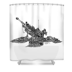 777 Shower Curtain