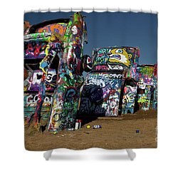 Texas 66 Shower Curtain
