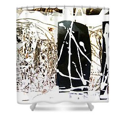 Shower Curtain featuring the photograph Introspect  by Danica Radman