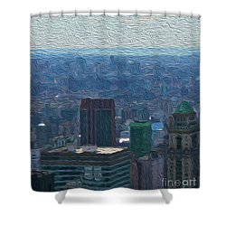 8-18-3057b Shower Curtain