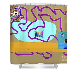 8-18-3057p Shower Curtain