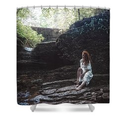 Shower Curtain featuring the photograph Aretusa by Traven Milovich