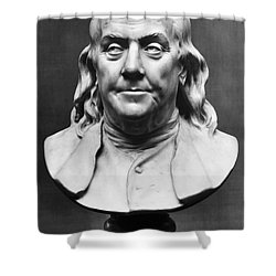 Benjamin Franklin (1706-1790) Shower Curtain by Granger