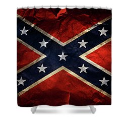 Confederate Flag 9 Shower Curtain