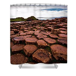 Giant's Causeway Shower Curtain