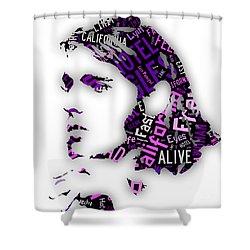 Glenn Frey Eagles Collection Shower Curtain