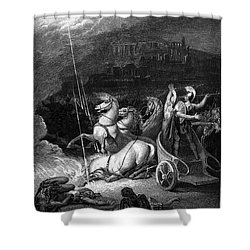 Homer: The Iliad Shower Curtain by Granger