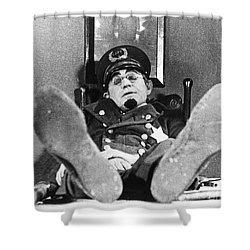 Keystone Kops Shower Curtain by Granger