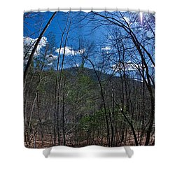 Lake Lure Shower Curtain