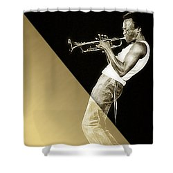 Miles Davis Collection Shower Curtain