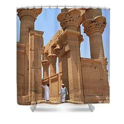 Temple Of Isis Shower Curtain