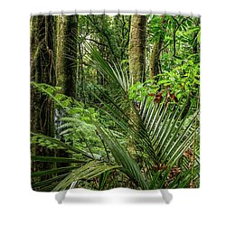 Shower Curtain featuring the photograph Tropical Jungle by Les Cunliffe
